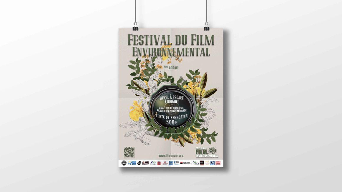 Affiche Festival du Film Environnemental de Poitiers