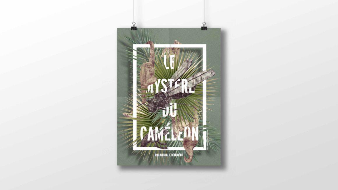 Affiche Mystère du caméléon