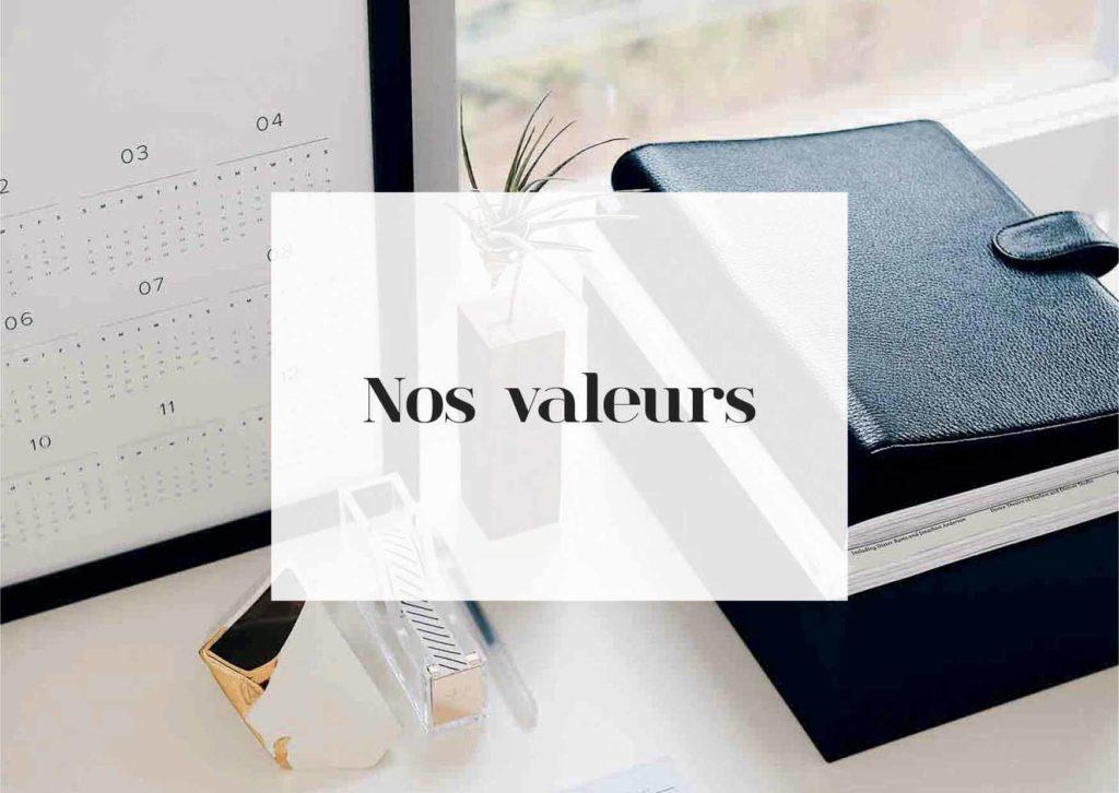 les valeurs nidée