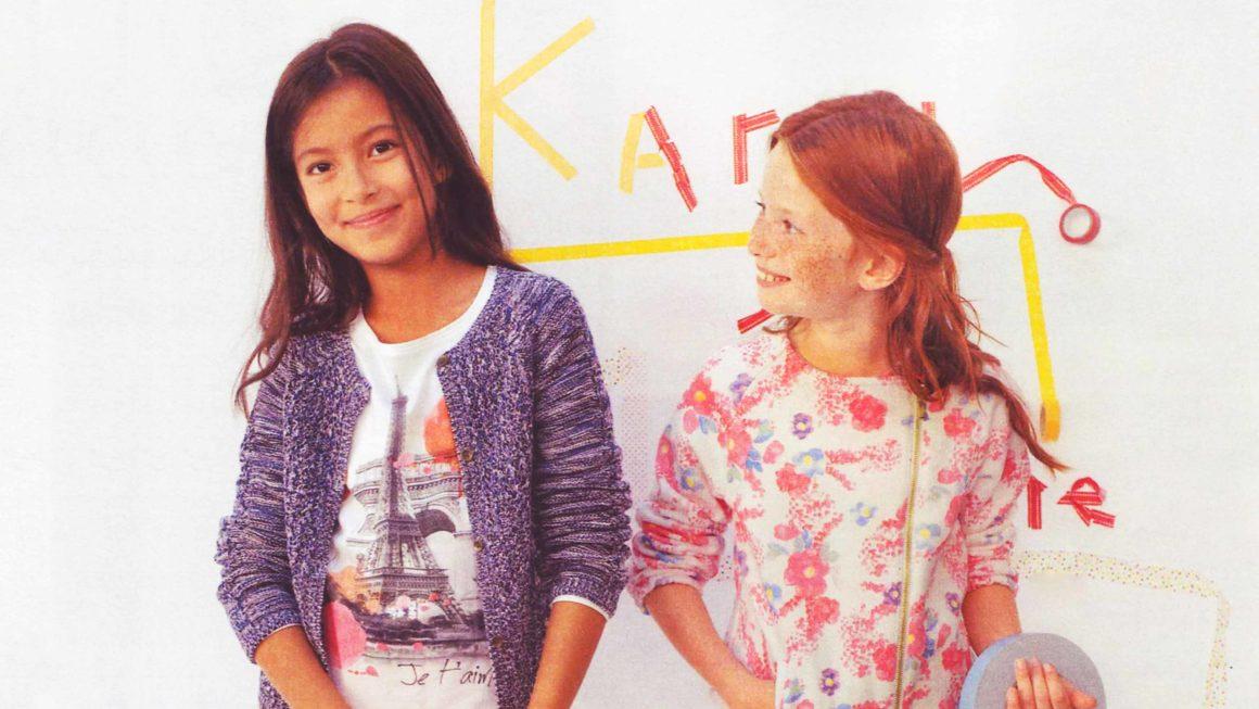 Motif Paris pour La Redoute Kids, 2015