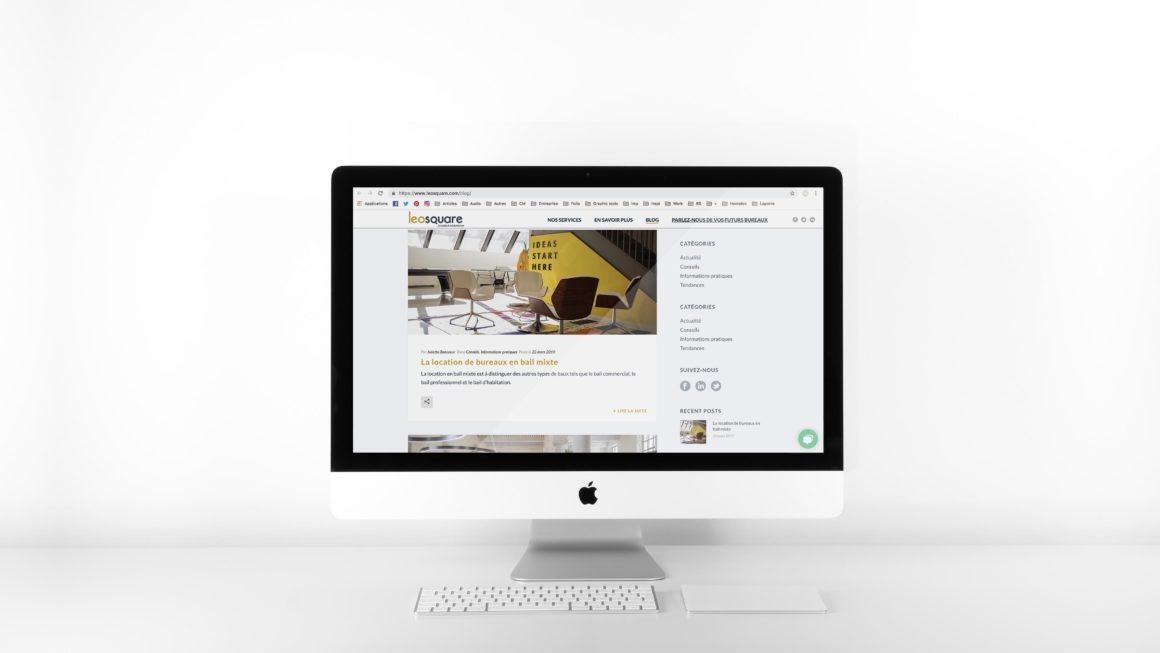 Articles pour le blog de la startup Leosquare