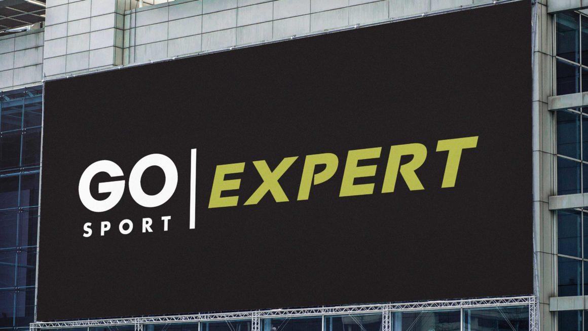 Refonte logo Go Sport Expert