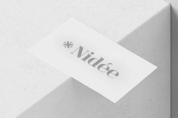 L'histoire de la création de l'identité du Studio Nidée