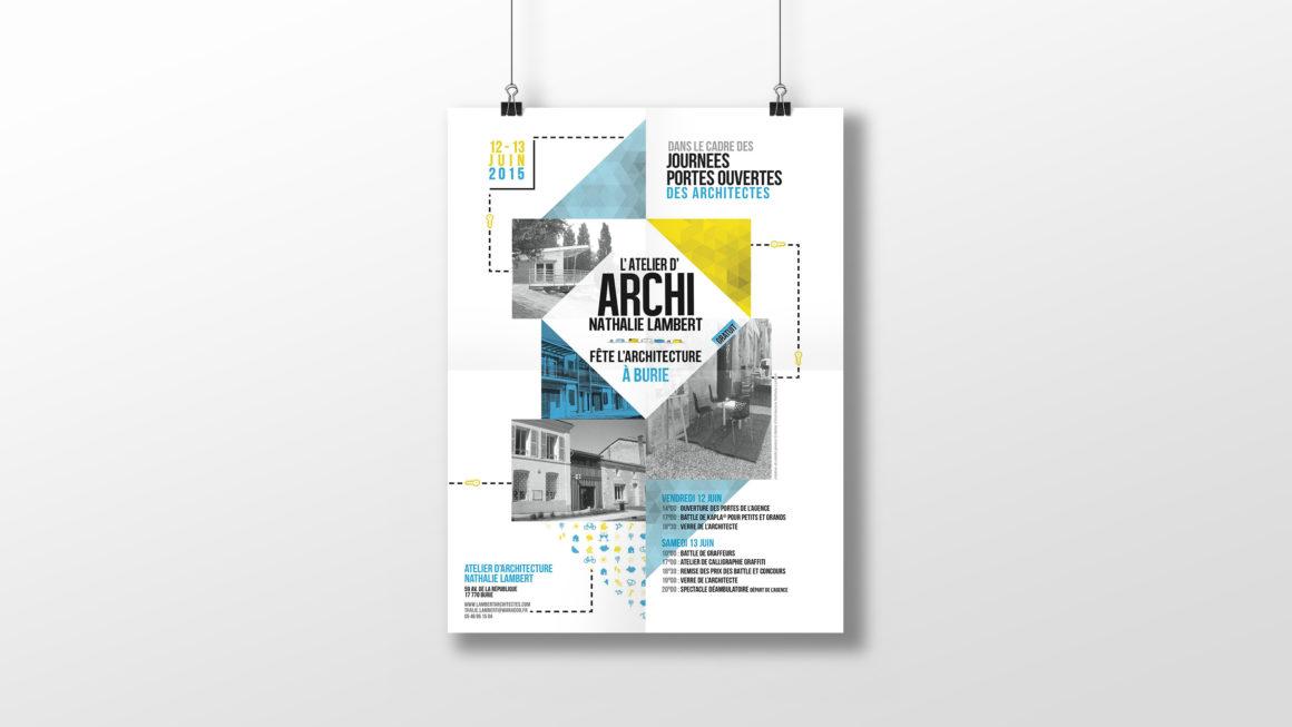 Affiche Atelier d'architecture Nathalie Lambert