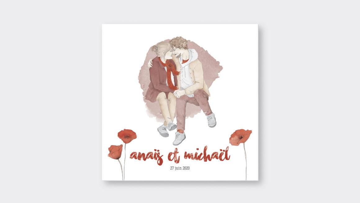 Faire-part Anaïs et Mickaël